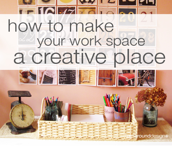 Admirable Make Your Work Space A Creative Place Turnaround Design Largest Home Design Picture Inspirations Pitcheantrous